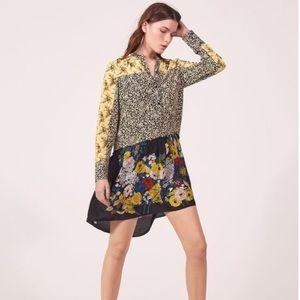 💐🌞 sandro. senna floral dress